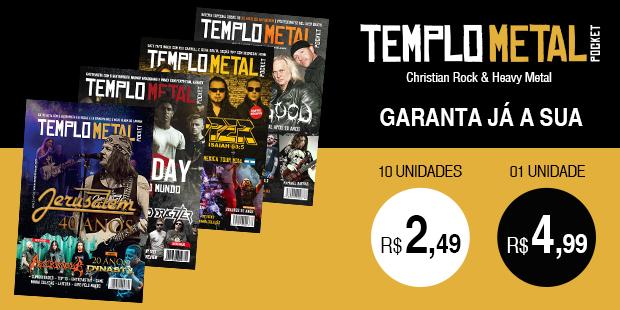 Revista Templo Metal Pocket - Templo Metal portal de notícias do Rock Cristão